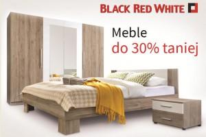 Meble do 30% taniej i bony zakupowe w Black Red White