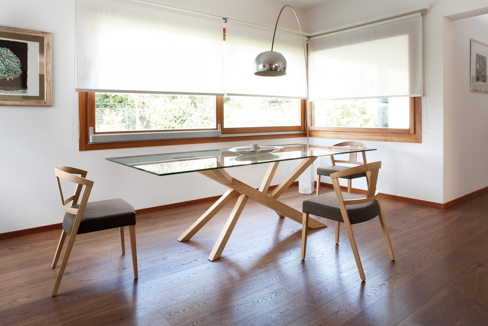 Wspaniały Wybieramy meble - Stół ze szklanym blatem - idealny do nowoczesnej SP26