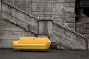 "Sofa ""Agda"" w stylu art deco"