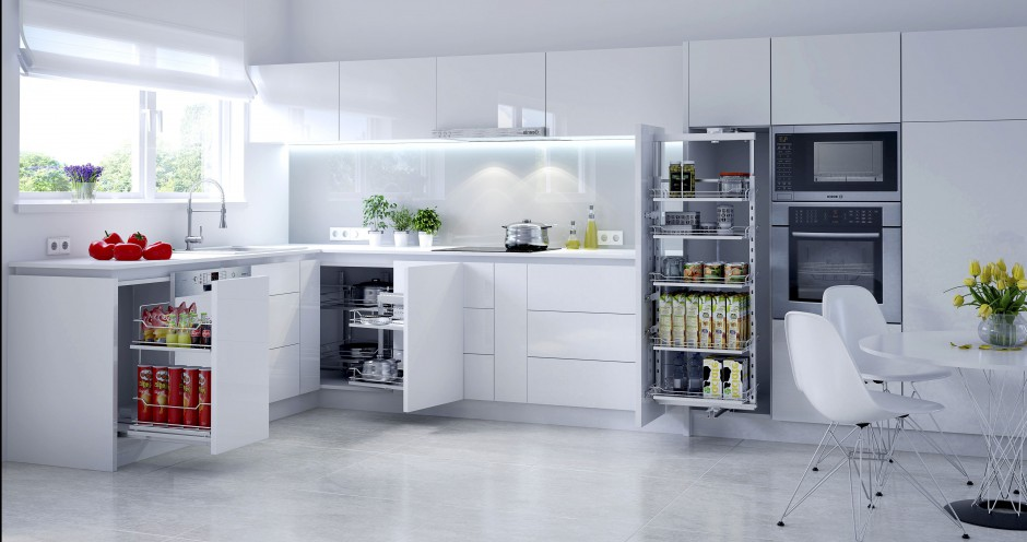 Urządzamy  Funkcjonalna kuchnia 10 najlepszych szafek cargo  meble com pl -> Kuchnia Funkcjonalna Meble