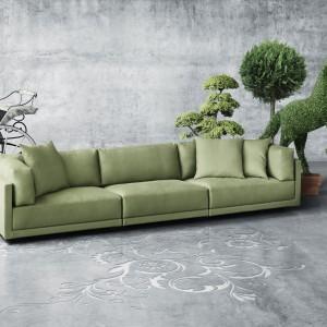 Sofa Krypton ma prosty kształt, który jest pełen uroku. Bogactwo kolorów tkanin oraz miękkie poduchy oparciowe sprawią, że idealnie sprawdzi się w każdym salonie. Fot. Eillersen