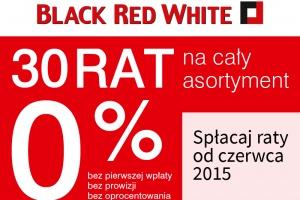 Promocja do 40% taniej oraz 30 rat 0% w Black Red White