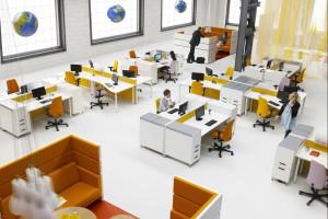 Przestrzeń biura. Zobacz jak najlepiej urządzić open space