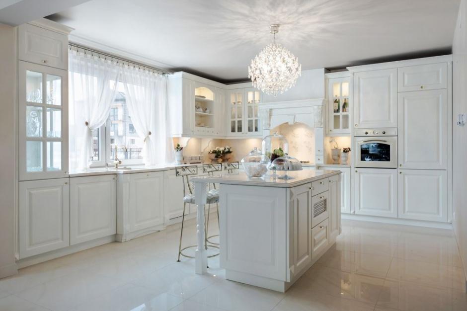 Urządzamy  Kuchnia w klasycznym stylu Zobacz   -> Kuchnia Biala Stylowa