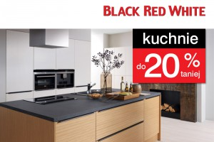 W Black Red White 1000 mebli i dodatków do 30% taniej oraz kuchnie do 20% taniej