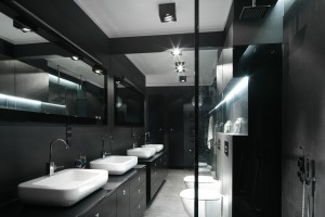 Ciemne kolory w łazience - nadchodzi nowy trend!
