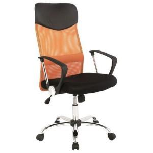 Fotel biurowy Q-025 wyposażono w funkcję Tilt, czyli kołyskowy mechanizm łączący siedzisko z podnośnikiem i podstawą. Fot. Mirat