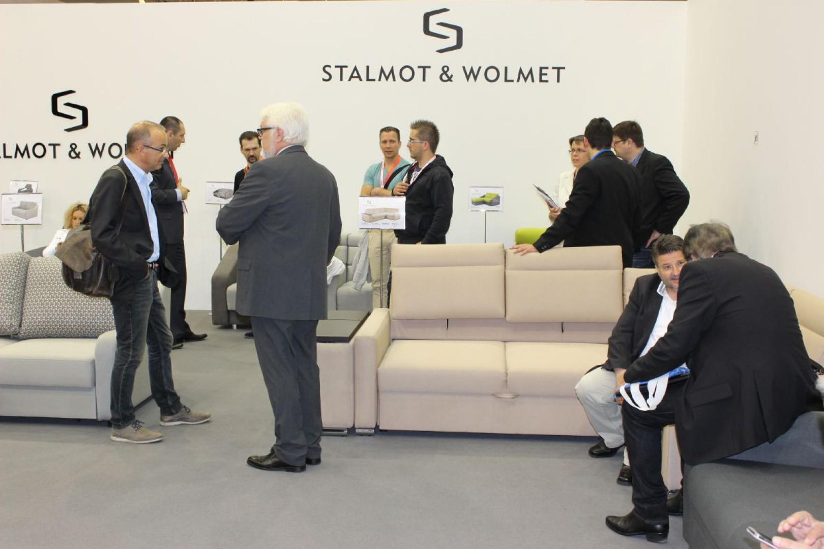 Stoisko firmy Stalmot & Wolmet na targach Interzum 2015. Fot. Mariusz Golak