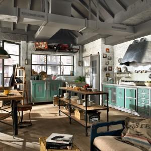 Loftowa kuchnia włoskie marki Marchi. Fot. Marchi