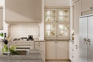 Meble kuchenne z przeszkleniami - stwórz wnętrze pełne lekkości