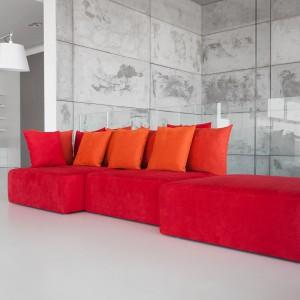 """Sofa """"Le Monde"""" zaprojektowana przez mediolańskiego projektanta Leonardo Talarico dla firmy Noti. Fot. Noti"""