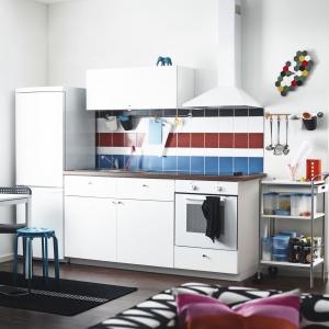 Kuchnie Metod dają szerokie możliwości aranżacji wnętrza. Fot. IKEA