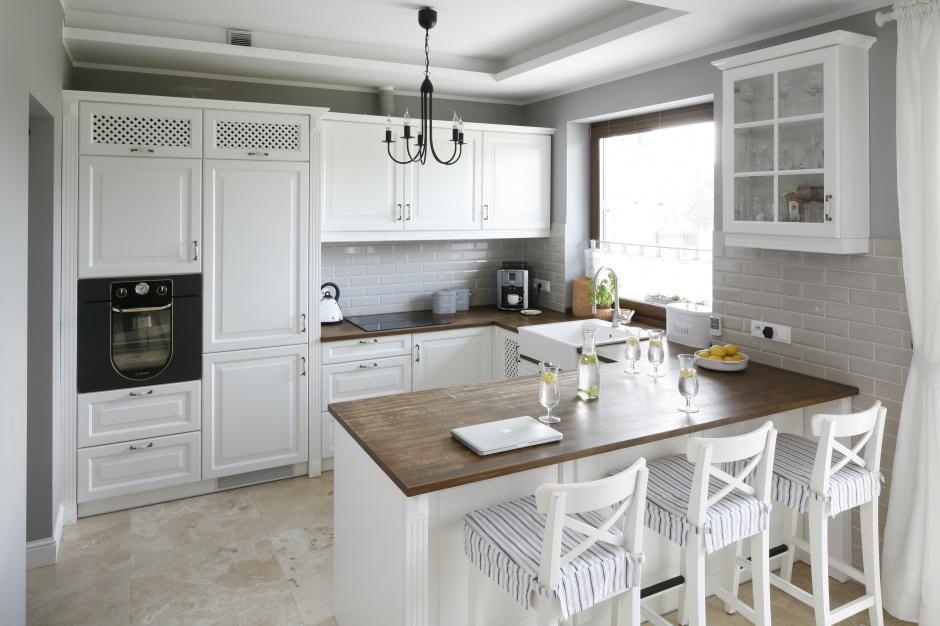Urządzamy  Biała kuchnia Oryginalne propozycje w klasycznym stylu  meble c   # Urządzamy Mieszkanie Kuchnia