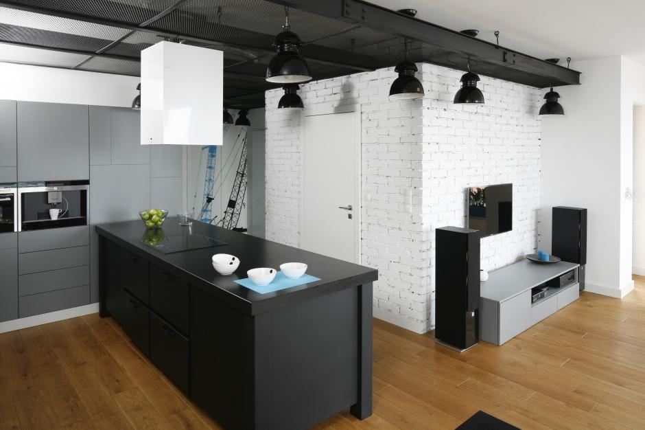 Urządzamy  Modna kuchnia Ciekawe aranżacje w industrialnym stylu  meble co   -> Urządzamy Mieszkanie Kuchnia