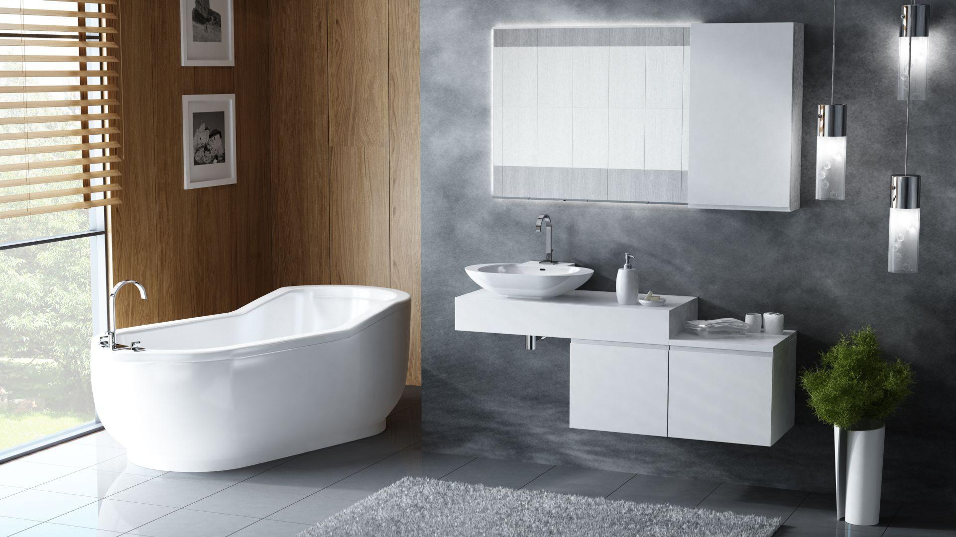 Urządzamy Piękna łazienka świetne Meble Na Których