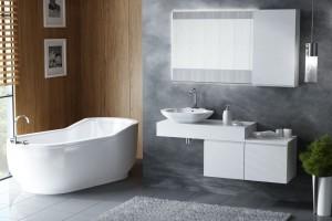 Piękna łazienka. Świetne meble, na których ustawisz umywalkę
