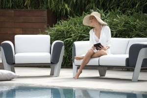 Sofa w ogrodzie. Najbardziej eleganckie modele