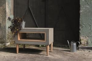 Stolik kawowy. A może model z betonu?