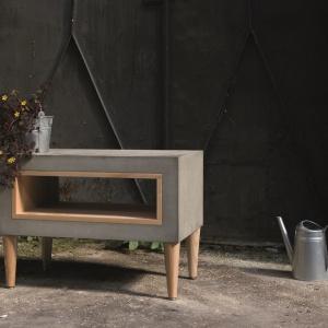 Stolik Timeless, z betonu architektonicznego. Fot. Morgan&Möller