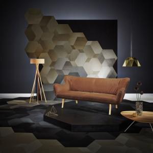 Skórzana sofa zawsze wygląda elegancko. Fot. Leolux