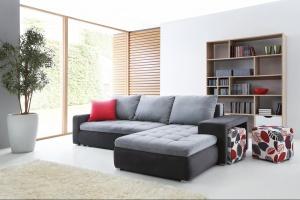 Sofa w salonie. Modne modele z funkcją spania