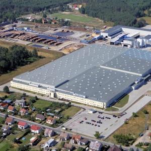 Fabryka IKEA Industry w Wielbarku. Fot. WMSSE