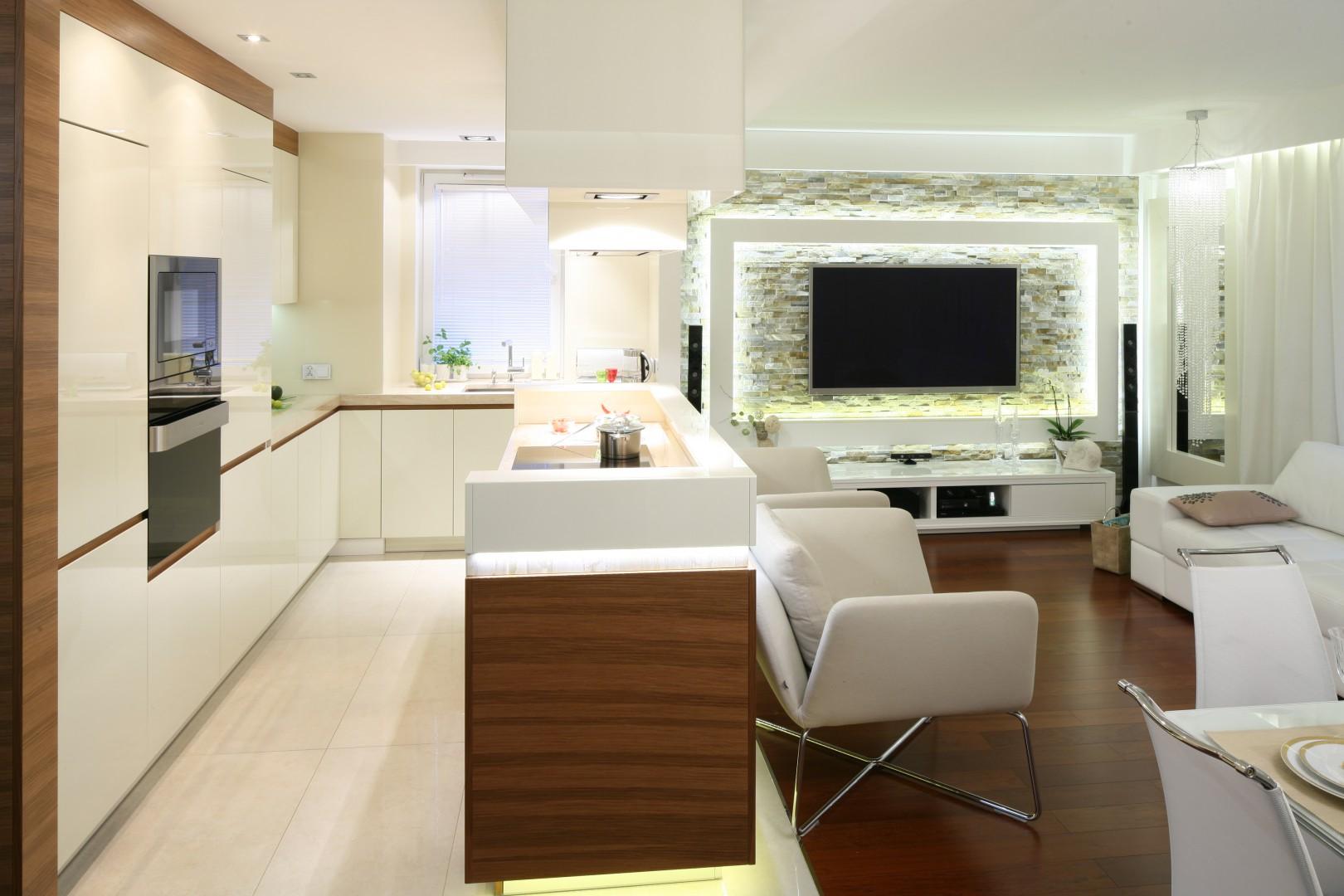 Urządzamy Salon Z Kuchnią Tak Urządzisz Modne Wnętrze