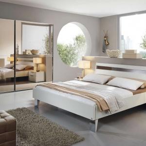 Łóżko z kolekcji 20Up jest nowoczesne i niezwykle funkcjonalne. Fot. Kler