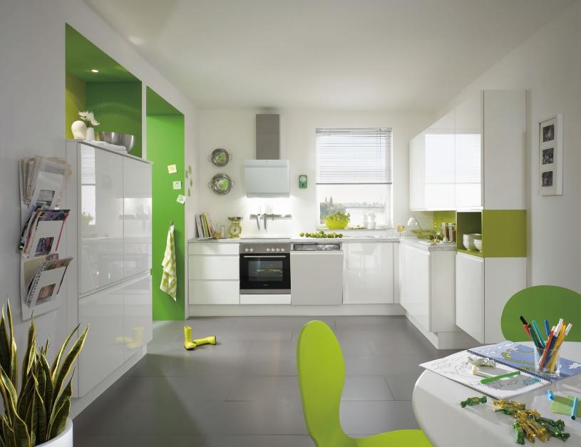 Urządzamy  Nowoczesna kuchnia Piękne aranżacje na wysoki połysk  meble com pl -> Urządzamy Mieszkanie Kuchnia
