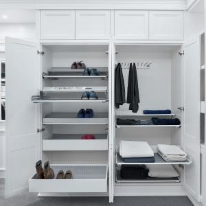 Wyposażenie garderoby firmy Peka. Fot. Peka