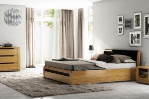 Drewno w sypialni. 15 najpiękniejszych kolekcji mebli