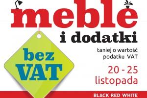 Meble i dodatki bez VAT w Black Red White