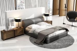 Meble do sypialni. Zobacz łóżka z pięknym zagłówkiem