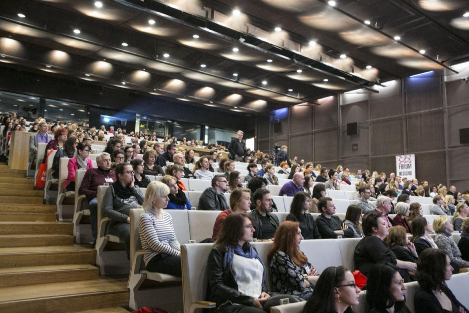 Forum Dobrego Designu to doskonała okazja do spotkania w jednym miejscu projektantów, architektów, designerów, jak również producentów i dystrybutorów. Fot. Bartosz Jarosz