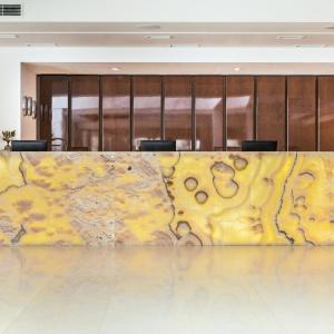 Hotel Grand Lubicz - recepcja. Fot. Ernest Wińczyk