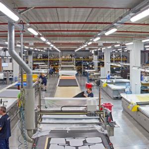 Krojownia firmy Profim w Turku
