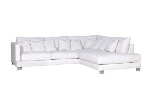 """""""Alaska"""" - śnieżnobiała sofa"""