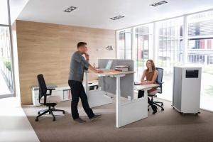 Meble biurowe. Zobacz ergonomiczne rozwiązania