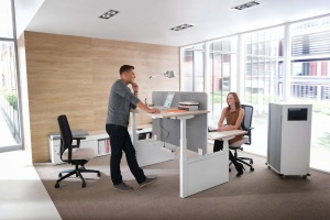 Mobilne meble biurowe - oferta polska i zagraniczna