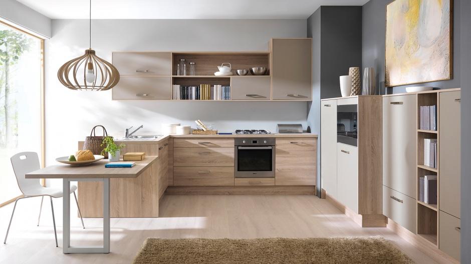 Wybieramy meble  Kuchnia U Zobacz modne projekty w tym   -> Castorama Kuchnia Unik Czarny