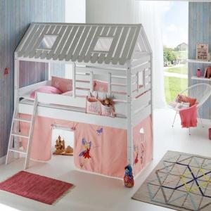Łóżko z antresolą Wendy wygląda jak domek. To wyjątkowe miejsce do spania oraz zabawy. Fot. Seart