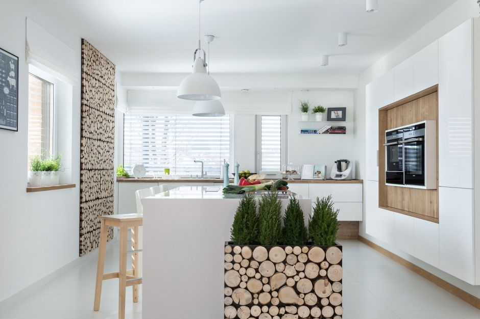 Urządzamy  Kuchnia z wysoką zabudową Piękne zdjęcia  meble com pl -> Urządzamy Mieszkanie Kuchnia
