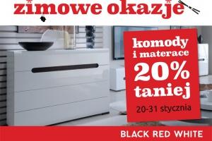 Black Red White zaskakuje zimowymi promocjami