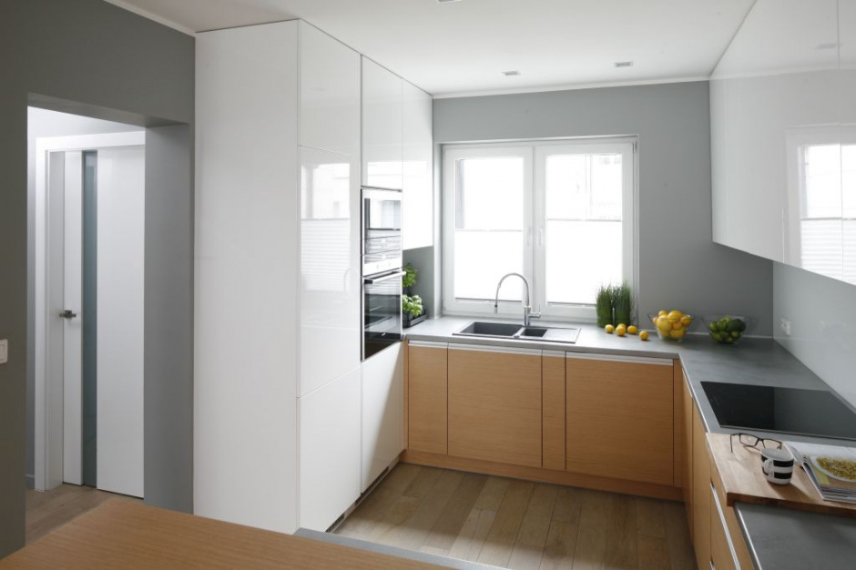 Urządzamy  Mała kuchnia 20 pięknych zdjęć  meble com pl -> Kuchnia Na Wymiar Mala