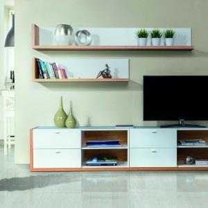 Kolekcja Salvo - system charakteryzują prostota i minimalizm formy – widoczne w każdym detalu. Fot. Szynaka Meble
