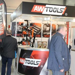 Stoisko AW Tools na targach Budma 2016. Fot. Radosław Zieniewicz