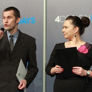Mariusz Golak i Marta Borowska.