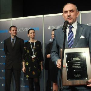 Jan Szynaka - Człowiek Roku 2015. Fot. PTWP