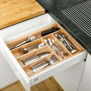 Wood'in'set - organizery do szuflad firmy GTV. Fot. GTV