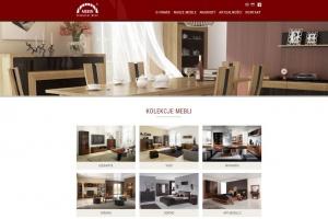 Nowa strona internetowa producenta mebli